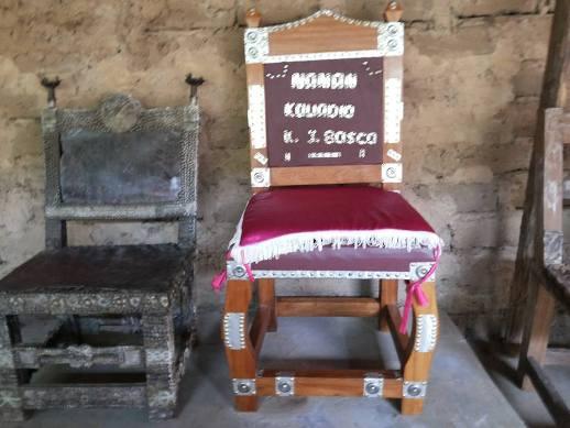 La chaise du chef Kouadio Kra Jean-bosco